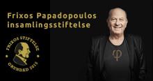 Frixos Papadopoulos insamlingsstiftelse utser sin första stipendiat