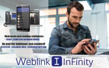 Nyhet, Weblink InFinity. Det andra kallar tillägg kallar vi standard!