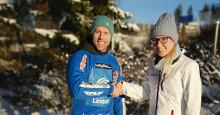 Alamäkiluistelun SM-voittaja Antti Tolvanen Cramon brändilähettilääksi