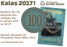 Välkommen på Bokkalas för vår Hundrade Bok!