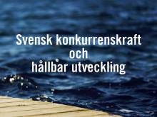 Svensk konkurrenskraft och hållbar utveckling