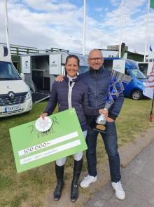 Jennie Juhlin Lundström, vinnare av 7-Star i Falsterbo
