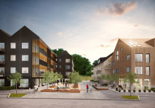Trähus av Tengbom vinner markanvisningar i Jönköping