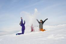Nära 100 000 barn och ungdomar har inspirerats till en mer aktiv fritid genom Alla på snö