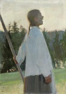 Ellen Thesleff på Sven-Harrys konstmuseum - Lysande konstnär och tidig modernist