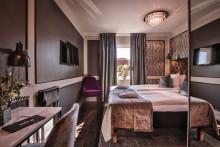 Ny design på hotellrummen på Krägga Herrgård