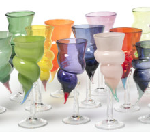 Annette Alsiö ställer ut glaskonst i Lindesberg