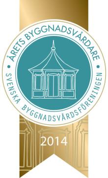 Ikväll koras Årets byggnadsvårdare 2014