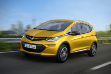 Räckvidd över 400 kilometer:  Nya Opel Ampera-e revolutionerar elektromobiliteten