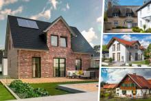 Klinker oder Landhausstil - Regionale Vorlieben beim Hausbau in Deutschland