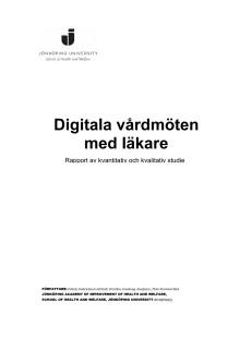 Digitala vårdmöten med läkare