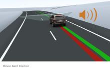 Trötthet lika stor trafikolycksfara som rattfylleri  Smart teknik från Volvo Personvagnar  en effektiv väckarklocka för trötta förare
