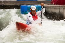 Spannende Rennen im Kanupark: WM-Qualifikationen 2018 im Kanu-Slalom