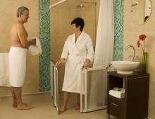 Halbhohe Duschtüren: von Anwendern für Anwender entwickelt