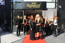 Rapunzel of Swedens invigning i Stockholm lockade många besökare