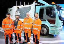 Snart rullar eldriven sopbil på Göteborgs gator