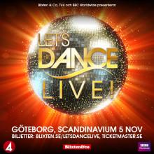 """""""Let's Dance Live"""" till Scandinavium i höst"""
