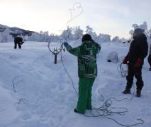 Friluftsopphold vinter for barn og unge med funkjsonsnedsettelse