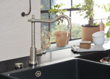 Vintage tap fittings in a new look –  Avia 2.0: nostalgia with a contemporary twist