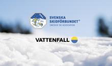 Vattenfall blir Smart Energy Partner för Svenska Skidförbundet