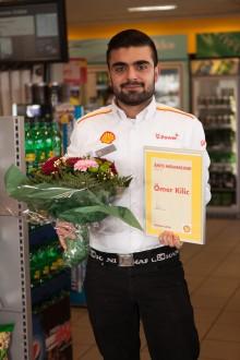 Årets medarbejder sætter Shell-toppen i arbejde