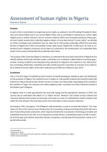 Undersøgelse af menneskerettigheder i Nigeria