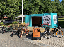 Eldrivna cyklar med ett unikt uthyrningskoncept