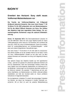 Medienmitteilung_Objektiv SEL-1635Z_D-CH_140915