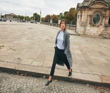 Det franske stilikonet Jeanne Damas viser  Ellos' høstikoner i ny kampanje