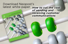 Neopost white paper explains how to cut the cost of customer communications