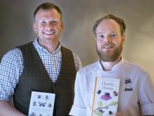 Svenska Bin delar ut hederspris till dessertmästare Joel Lindkvist och biodlare Johan Widing