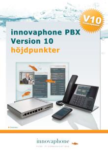 Höjdpunkter innovaphone version 10