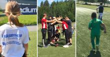 Väsbyhem i samarbete med lokala fotbollsklubbar