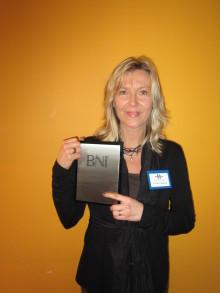 Anneli Hedlund – prisad nätverkare som alltid delar med sig