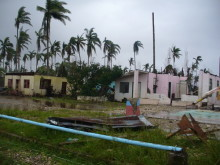 Survivors in need of healthcare after Typhoon Bopha