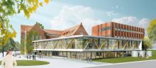 Akademiska Hus bygger ett nytt humaniora- och teologicentrum för Lunds universitet