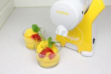Fixa enkelt egen sorbet av frukt och bär!