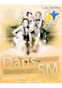 Lag-SM i Dans 3/12 2011 i Luleå