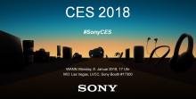 Sony @ CES 2018