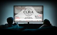 Premiär för CURAs reklamfilmer i TV
