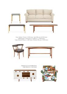 Bilaga, nya Josef Frank-möbler