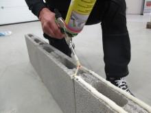 Weber Stone Fix, et nytt superraskt lim til Leca-muring