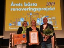 Förbo vann pris för årets bästa renovering