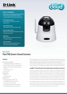 Produktblad D-Link DCS-5222L