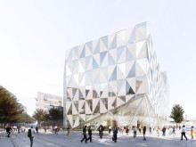 Ett unikt techhus växer fram på första parkett i Helsingborg
