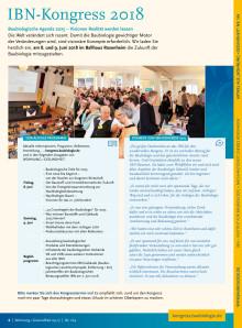 WOHNUNG+GESUNDHEIT 164: IBN Kongress 2018
