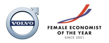 Volvo Cars blir ny sponsor för stipendiet Female Economist of the Year