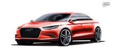 Audi visar A3 concept på bilsalongen i Genève
