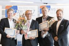 Winners of Nordic Stars Award 2016: AURA Biopharm, Eurocine Vaccines and Ocuspecto