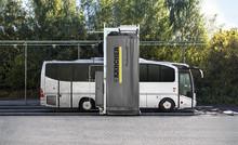 Dubbel tvättkapacitet för bussföretag med stor vagnpark